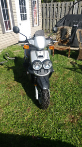 2004 Yamaha ZUMA 50 BWS One Owner Only 520 Miles Pointe Claire