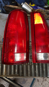 88-98 taillights fit chev or gmc trucks