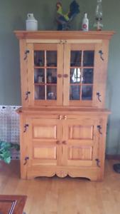 Vaisselier en bois (rustique) - dresser in pine (rustic)