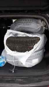 215/70R16 Winter Tires with Rims London Ontario image 1