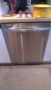 """NEWNEUF! Lave Vaisselle Whirlpool 24"""" Acier Stainless DishWasher"""