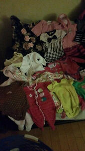 Little Girl's Used Clothing Lot - 6 - 9 Months- 49PCS - O.B.O