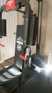 Bowflex/York bench***Reduced price**