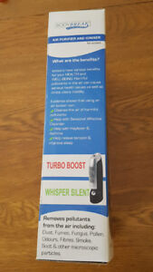 """Body Break 12"""" air purifier and ioniser"""