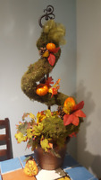 Fall Topiary.  Brand New