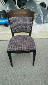 2 BEAUTIFUL CHAIRS FOR SALE WITH THE NAIL STUDS
