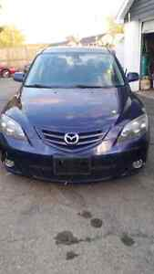 2005 Mazda 3 hatchback for sale!!!