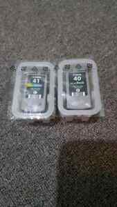 Canon ink cartridges 40 & 41