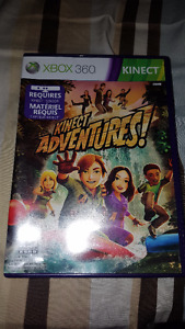 Kinect Sensor with Kinect Adventures. Xbox 360 Standard Edition