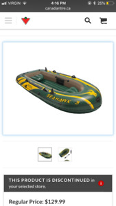 Raft Boat For Sale used once!