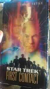 Star Trek First Contact vhs for sale