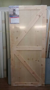 New Item Alert: Knotty Pine Sliding Doors, Limited Stock Just In