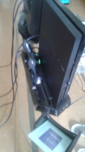500 gb ps4 with two controllers and two games.