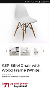 White Eiffel chair (eames replica)