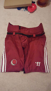 NEW WARRIOR PRO STOCK PHOENIX COYOTES HOCKEY PANT SHELL