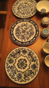 Chinese Dragon dishes