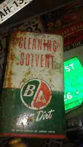 B/A solvent tins (2)