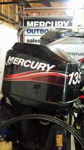 "2000 Mercury 135 HP Optimax Outboard 2.5 liter 20"" shaft"