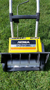 NOMA ELECTRIC SNOW BLOWER