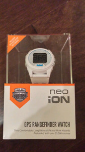 BRAND NEW 2016 Bushnell Neo iON GPS Rangefinder Watch