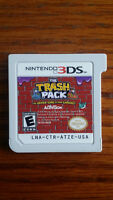 NEW NEVER BEEN USED NINTENDO 3DS TRASH PACK GAME CARTRIDGE