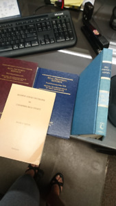 Assorted Law Books