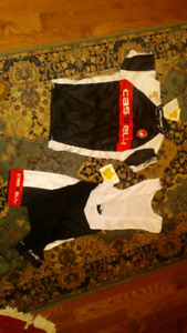 Castelli cycling jersey and singlet