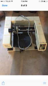 New Hermes Vanguard 3200 Engraving machine with supplies