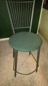 2 Bar Stools (Green)