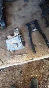 2009 CRF 230 PARTS, Swing arm, Air box