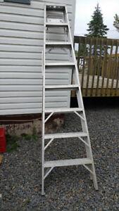7' aluminum ladder