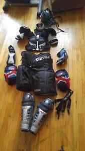 Équipement de hockey pour senior ( femme )