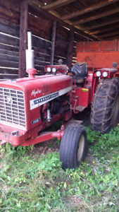 International Tractor and Blade