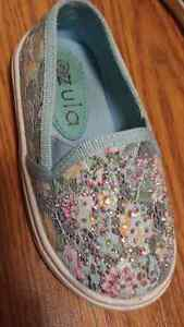 Brand new toddler shoes with bling Kitchener / Waterloo Kitchener Area image 1