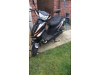 Longjia LJ50QT-3L 50cc scooter/moped spares and repairs
