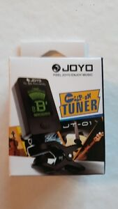 BRAND NEW Clip On Chromatic Guitar Bass Violin Ukulele LCD Tuner