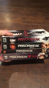 Prison break season 1 to 4 english only $25
