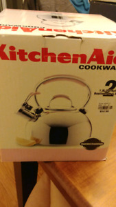 KitchenAid stainless steel stove top kettle