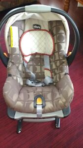 Car seat,carrier combo