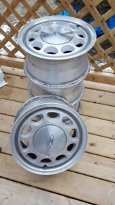 4 Ford Wheels 15 X 7  E7SC1007CA Mustang 1985 to 93