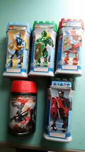 Lego Knights Kingdom and Bionicle Sets