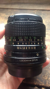 Canon FD 24mm F2.8 [mint condition]