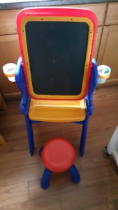 Crayola - chalk and white board easel