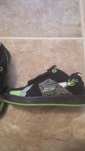 Boys shoes size 8.  Toddler size
