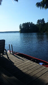 Lake Nosbonsing cottage for rent by the week
