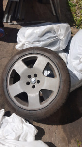 Vw rims with brand new tires 17inch