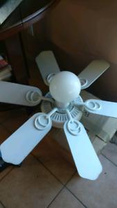 Ceiling Fan Light White