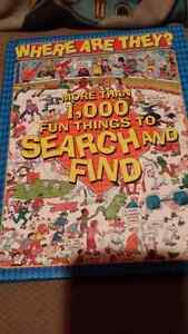 DVD 3 pack and where are they search and find book London Ontario image 2
