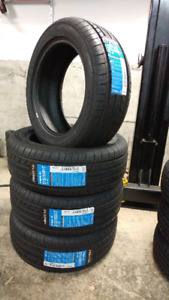 New 215/55R17 summer tires, $410 for 4