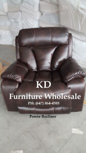 Brand New Power Recliner Chair & Coffee Table